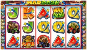 Mad Dash Slot Game